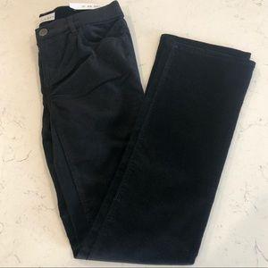 LOFT Fine Corduroy Modern Boot Jeans, Black